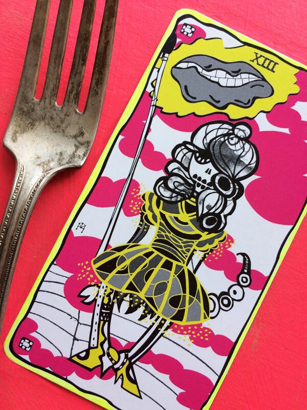 A New Death card for the Sakki-Sakki Tarot
