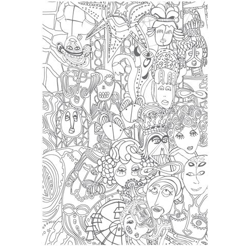 Coloring Book - Sakki-Sakki